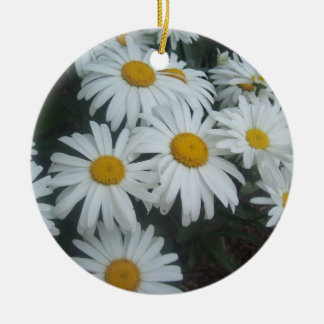 Wild Daisies Christmas Tree Ornament