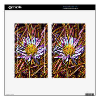 Wild Daisy Ereader Cover Skin For Kindle Fire
