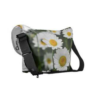 Wild daisy flowers close up commuter bags