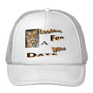 wild date mesh hats