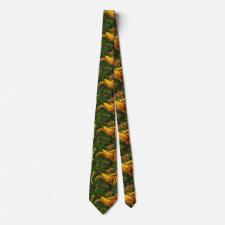 """Wild Day Lilly"" Flower Garden Neck Tie"