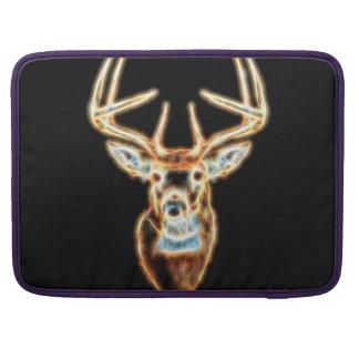 Wild Deer Head Energy Spirit Sleeve For MacBooks