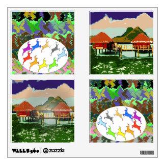 Wild Deer Hut Cottage Room Graphic