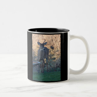 Wild Deer Two-Tone Coffee Mug