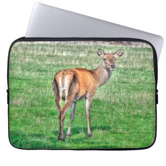Wild Deer Wildlife for Outdoor-lovers Laptop Sleeve