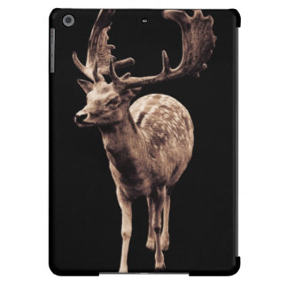 wild deer with antlers iPad air cover