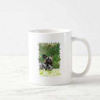 Wild Dog Coffee Cup Mugs