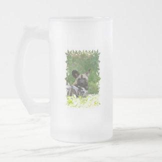 Wild Dog Frosted Beer Mug