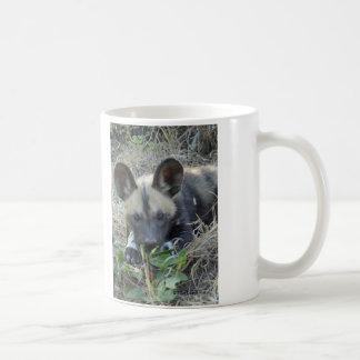 Wild Dog Puppy Coffee Mug