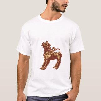 Wild Dog Statue T-Shirt
