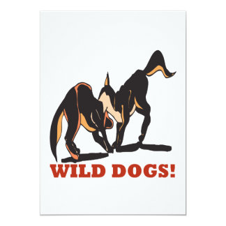 Wild Dogs Card