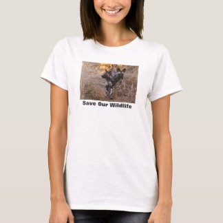 Wild Dogs Save Our Wildlife T-Shirt