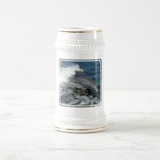 Wild Dolphin Beer Stein Mug