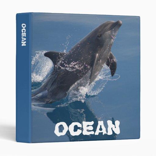 Wild dolphin binder