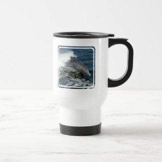 Wild Dolphin Plastic Travel Mug
