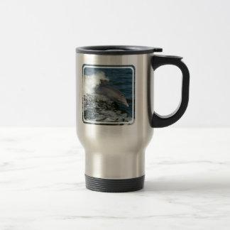 Wild Dolphin Stainless Travel Mug