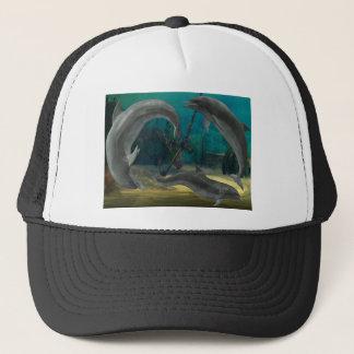 Wild Dolphins Trucker Hat
