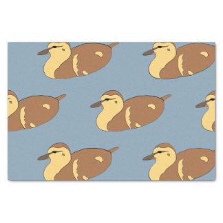wild duck tissue paper