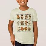 Wild Edible Mushrooms T-Shirt