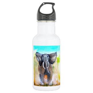 Wild Elephant Power 18oz Water Bottle