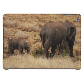 Wild Elephants with Baby iPad Air cases