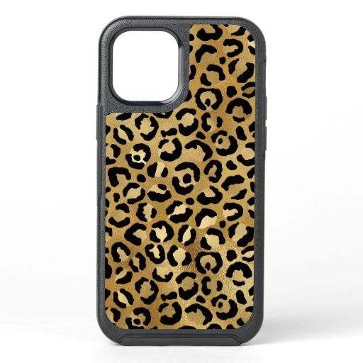 Wild & Exotic Leopard Print Pattern OtterBox Symmetry iPhone 12 Case
