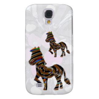 Wild Exotic Zebra - NOVINO Art101 Graphics Samsung Galaxy S4 Cover