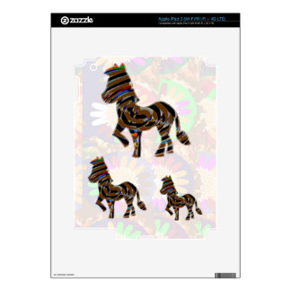 Wild Exotic Zebra - NOVINO Art101 Graphics iPad 3 Skin