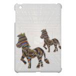 Wild Exotic Zebra - NOVINO Art101 Graphics iPad Mini Covers