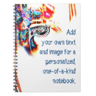 Wild Eyed Fate Spiral Notebook