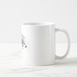 Wild Eyes Brush Strokes Coffee Mug