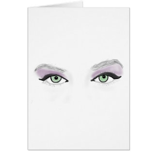 Wild Eyes Color Card