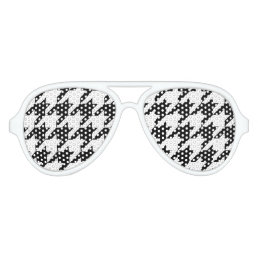 Wild Eyes Houndstooth Sunglasses
