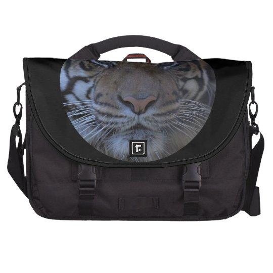 Wild Eyes of a Tiger Face Wildlife Photography Laptop Computer Bag