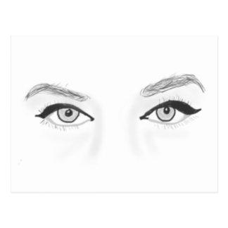 Wild Eyes Postcard