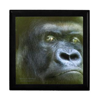 Wild Eyes - Silverback Gorilla Art Gift Box