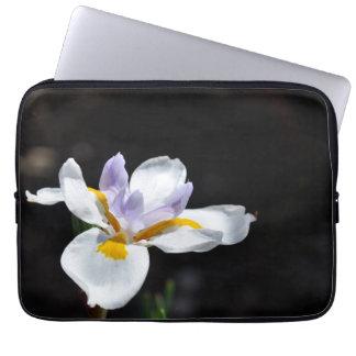 Wild Fairy Iris Flower Laptop Sleeve