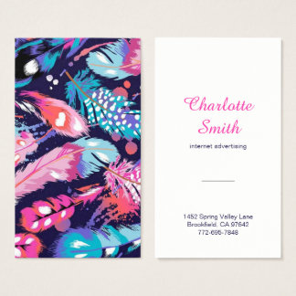 Wild Feathers Business Card