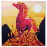 Wild Fire Horse American MoJo Napkins
