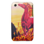 Wild Fire Horse iPhone Case iPhone 3 Case-Mate Cases