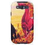 Wild Fire Horse Samsung Galaxy Case Samsung Galaxy SIII Case