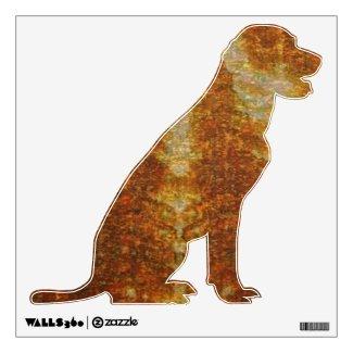 Wild Fire : Labrador Dog Room Graphics