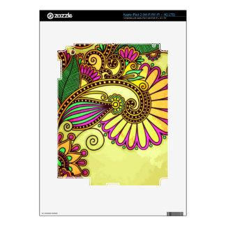 Wild Floral iPad 3 Skins