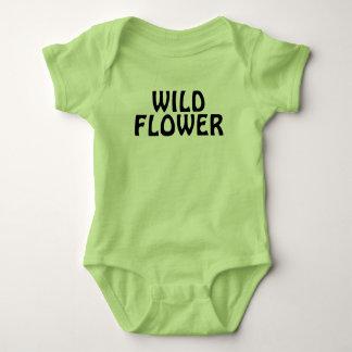 Wild Flower Baby Bodysuit
