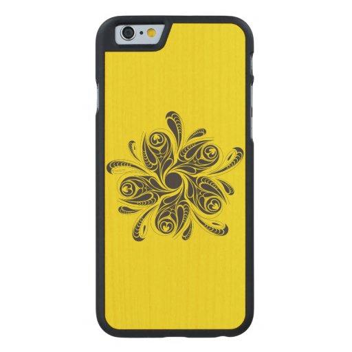 Case Design wild flower phone cases Wild Flower Carvedu00ae Maple iPhone 6 Slim Case : Zazzle
