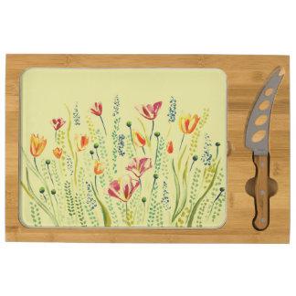 Wild Flower Cheese Board