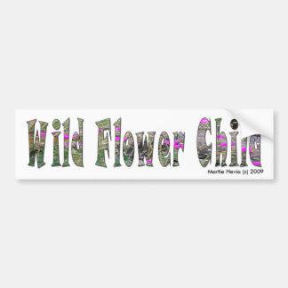 Wild Flower Child - Bumper Sticker Car Bumper Sticker