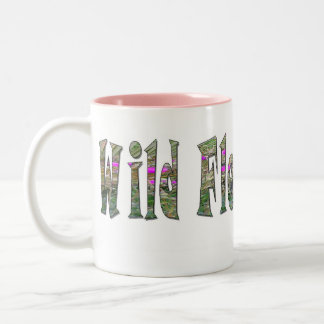 Wild Flower Child - Two-Tone Two-Tone Coffee Mug