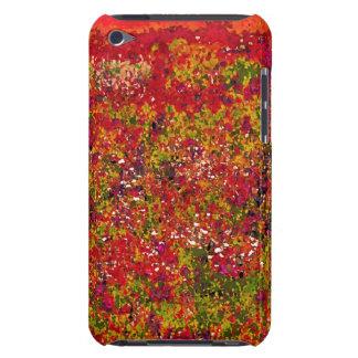 Wild Flower Field Painting - ipod case