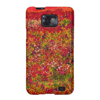 Wild Flower Field Painting - Sam sung galaxy case Samsung Galaxy S Covers